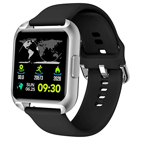MAXTOP Smart Watch Compatible for iPhone...