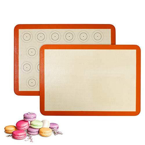 Silikon Macaron Backmatte Set von 2...
