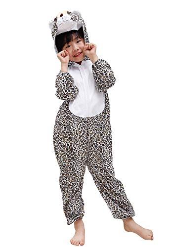 Lovelegis (Talla s) Disfraz de Leopardo - 2/3 años - Disfraz de Carnaval - Halloween - niña - niño - Unisex - Cosplay
