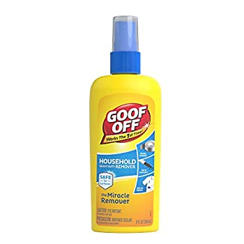 Goof Off - Household Heavy Duty Remover for Spots Stains Marks and Messes – 8 fl oz  FG708