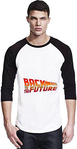 Back To The Future Unisex Baseball Shirt Large