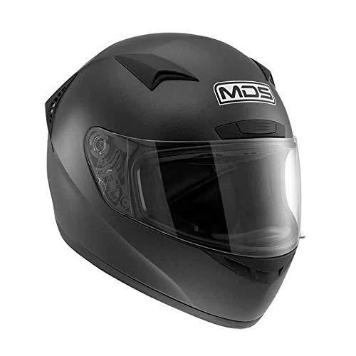 Motocicleta Casco M13MDS E2205Solid, Flat Black, S