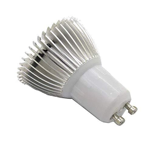 Viktion LED Pflanzenlampe GU10 LED Pflanzenlicht Growlicht LED-Pflanzen-Wachstumslampe 8W 9W 10W für Obst Gemüse Pflanzen Innen-Gewächshaus Blumen (10)
