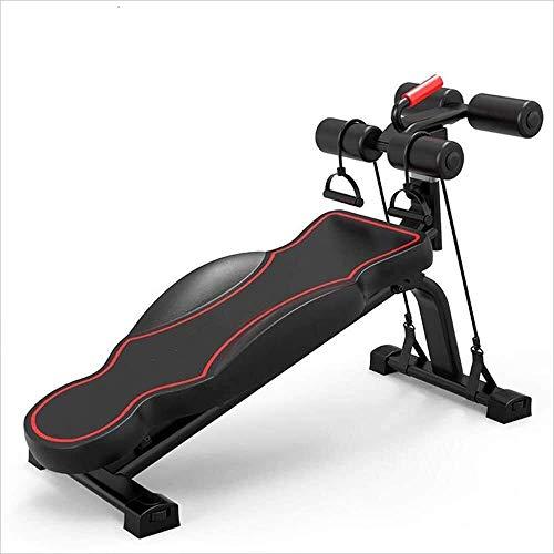 GANE Klappbare Hantelbank Verstellbare Multifunktionale Sitzgeräte für das Rücken-Sitz-Fitnessgerät Home Abdomen Multifunktions-Bauchmuskeln Hantel-Fitnessgeräte