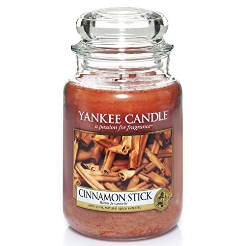 Yankee Candle Duftkerze im Glas (groß) | Cinnamon Stick | Brenndauer bis zu 150 Stunden