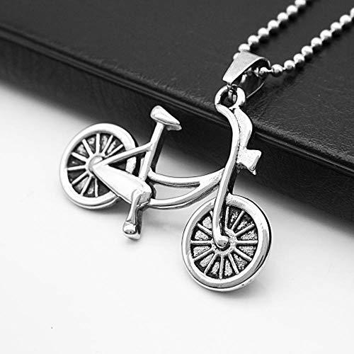 Relovsk Titanium stalen ketting Koreaanse mode fiets hanger mannen en vrouwen titanium stalen ketting zonder bijpassende ketting