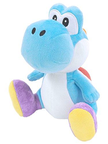 Sanei Super Mario All Star Collection Yoshi Plush Small (Light Blue)