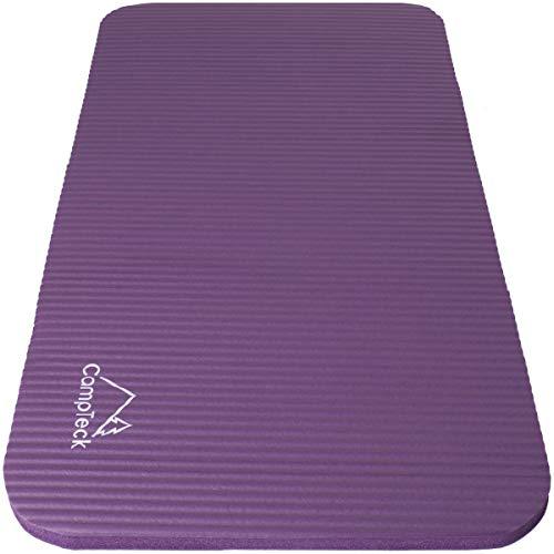 CampTeck U6963 - Cuscinetto Yoga Ginocchia Schiuma Morbida Antiscivolo Knee Pad Yoga Pad per Fitness, Ginnastica, Allenamento, Palestra, Pilates ECC - Viola