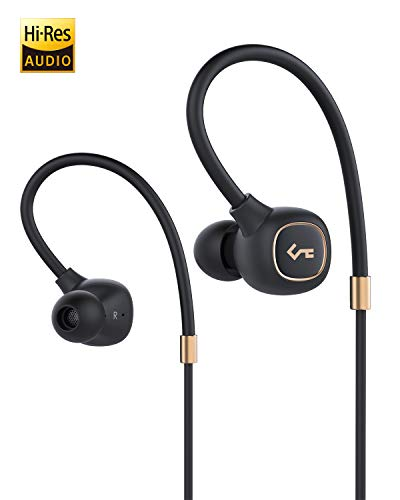 Bluetooth Headphones, AUKEY Key Series Wireless Earbuds with Hybrid Driver System, aptX HiFi Stereo Earphones, in-Ear Sport Headphones with in-line Mic, IPX6 Sweatproof, 8H Playtime, USB-C Charging