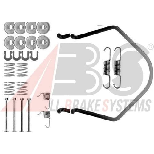 ABS All Brake Systems 0638Q - Kit Accessori, Ganasce Freno
