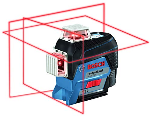 Bosch GLL3-330C-RT 360-Degrees Connected Three-Plane Leveling and Alignment-Line Laser (Renewed)