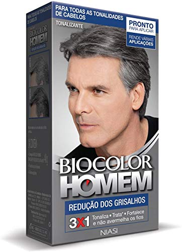Tonalizante Biocolor Homem Redução de Grisalhos, Biocolor Homem