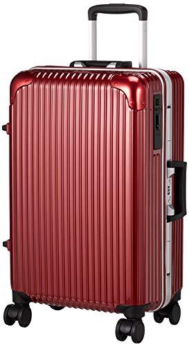 [ヒロディービーシー] フレームエッジ、スーツケース フレームエッジ 保証付 45L 4.2kg レッド