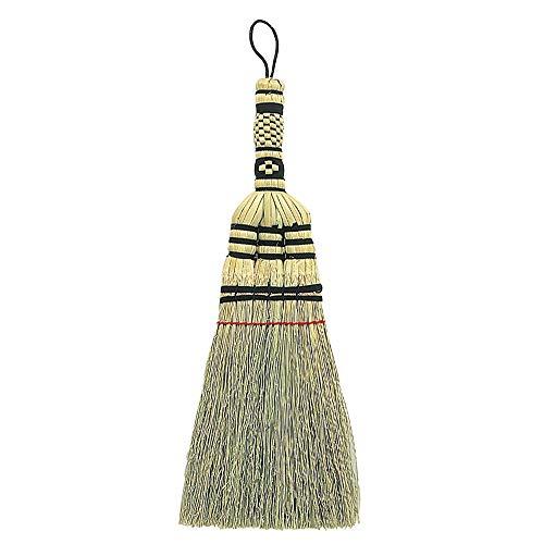アズマ ブラシ 廃棄安心手編みハンドブラシ 穂幅:約13cm 全長:約33cm  洋服のホコリ取り・糸くず取りに最適。 EC127