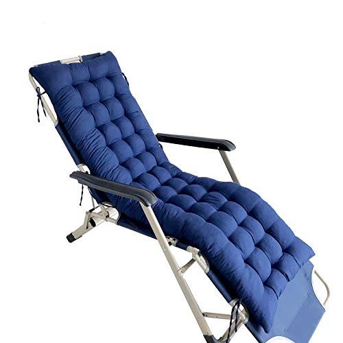 Cojín Chaise longue Cojín de silla mecedora Cojín de asiento acolchado Cojín de silla de ratán...