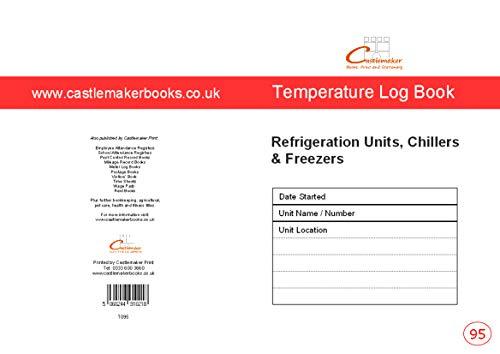 Temperatuur logboek (A5) T095, voor koelunits, koelmachines en vriezers