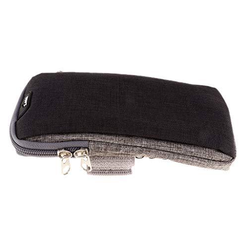 Bolsa de Teléfono con Descuento para Brazalete Deportivo con Orificio para - Negro s
