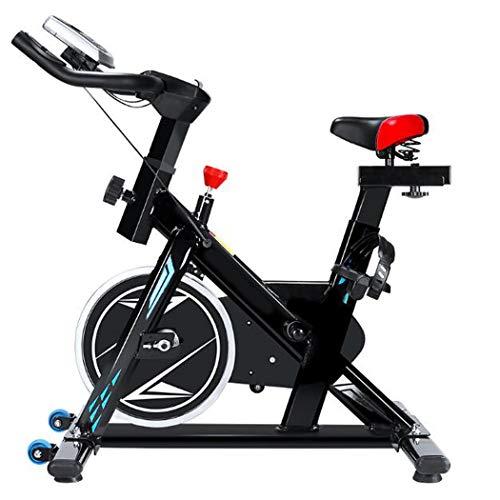 LHY Allenamento Spin Bike Professionale Cyclette Home Trainer, Bici da Fitness_Allenamento Spin Bike Cyclette Home Trainer, Cyclette Indoor con Display Digitale