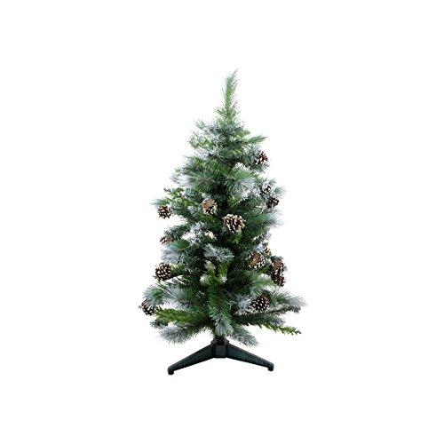Darice 3' Medium Frosted Glacier Pine Artificial Christmas Tree - Unlit