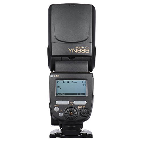 YONGNUO YN685 i-TTL HSS 1/8000s GN60 2.4G Wireless Flash Speedlite Flash para cámara Nikon D750 D810 Smart D7200 D610 D7000 D5500 D5200 D5300 D3300 D32000 DSLR.