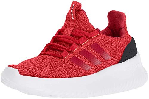 adidas Kids' Cloudfoam Ultimate Running Shoe, Red/Scarlet/Black, 5 M US Big Kid
