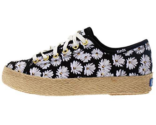 Keds Damen Triple Kick Daisy Schwarz Textil 39