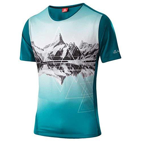 LÖFFLER Peaks Fahrrad T-Shirt Herren Pine Größe EU 48 2021 Radtrikot kurzärmlig