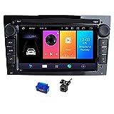 HAZYJT 2 DIN Android 10 Car DVD Player Multimedia Dsp Navegación Radio Compatible con Opel Vectra C...