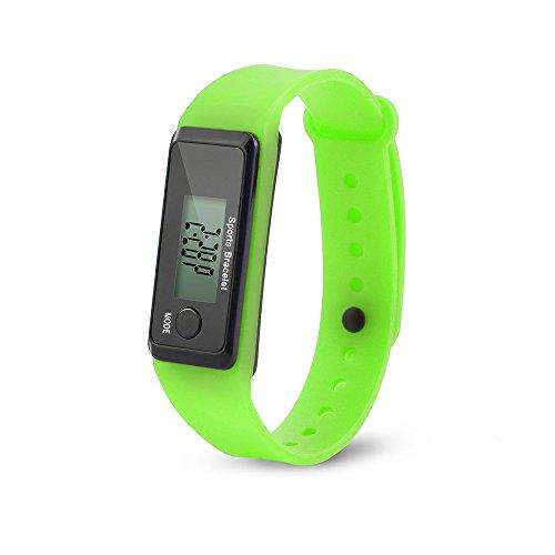 Challeng Unisex Watches Run Step Watch Armband Schrittzähler Kalorienzähler Digital LCD Walking Distance für Studenten