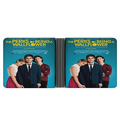 Die Perks of Being A WallFlower Geldbörse aus PU-Leder für Kreditkarten, Bargeld etc. DIY individuelle Geldbörse, modisches Kreditkartenetui