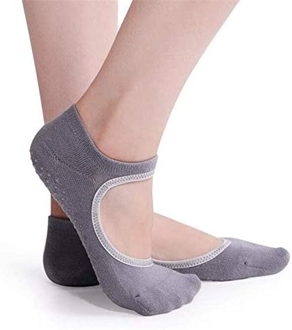3 Pairs Non-Slip Slipper Socks for Women Grippers with Extra Cushioning Anti-Odor Taiwan Made