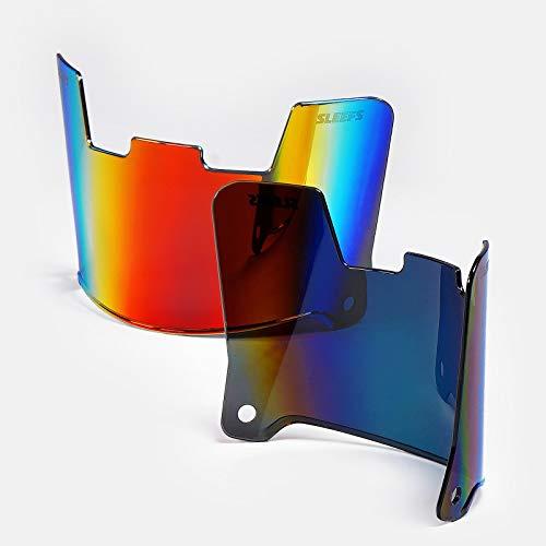 SLEEFS Borealis Helmet Eye-Shield Color Tinted Visor