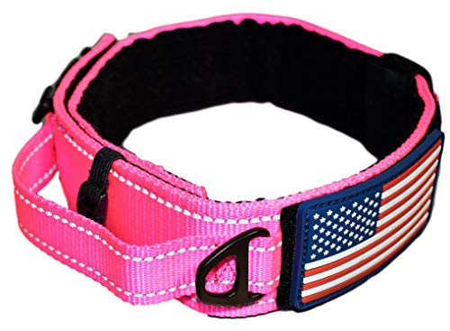 10 best pink dog collar large heavy duty for 2021