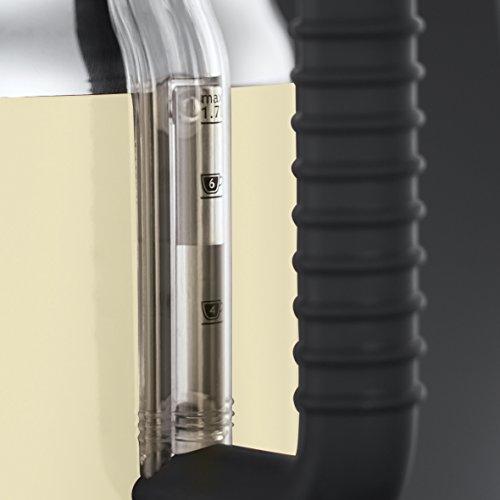 Russell Hobbs Retro Vintage Cream 21672-70 Wasserkocher (2400 W, 1.7 l, mit stylischer Wassertemperaturanzeige, Schnellkochfunktion) creme - 5