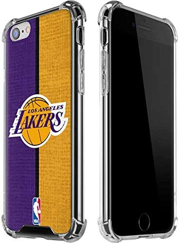 Skinit Clear Phone Case Compatible with iPhone 6 6s Officially Licensed NBA Los Angeles Lakers product image