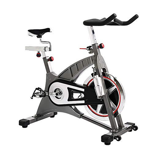 Best Price HLEZ Upright Exercise Bike, Fitness Bike and ab Trainer 20kg Two Way Flywheel Training Fi...