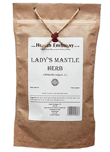 Hierba de Pie de León (Alchemilla Vulgaris) / Lady's Mantle Herb - Health Embassy - 100% Natural (50g)