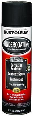Rust-Oleum 248656 Undercoating Spray, 15-Ounce, Black