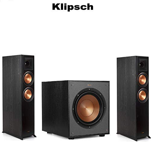 Best Price (1 Pair) Klipsch RP-6000F Reference Premiere Floorstanding Speaker - Each (Ebony) + Klips...