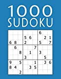 1000 SUDOKU: Colección XXL | fácil - medio - difícil - experto | 9x9 Clásico...