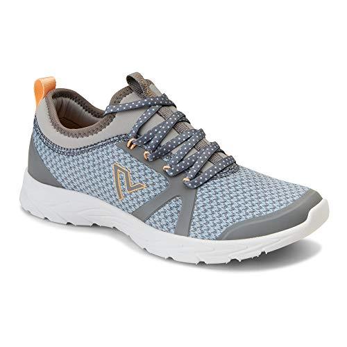 Vionic Women's, Alma Sneaker Grey Blue 7 M