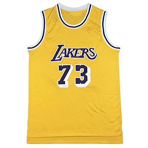 Dennis # 73, Jersey de Baloncesto para Hombres, Camiseta sin Mangas sin...