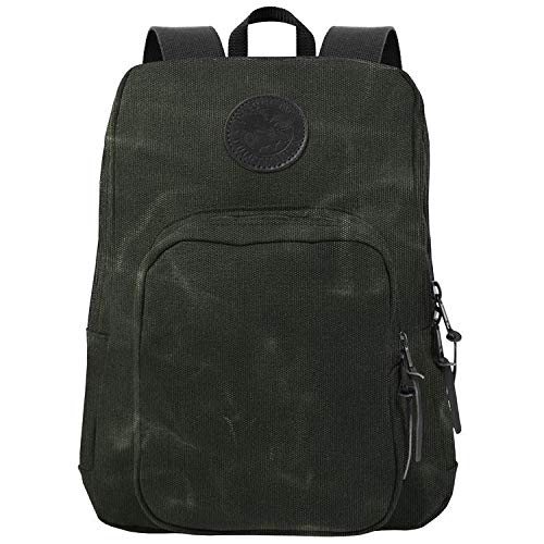 Duluth Pack Large Standard Backpack (Waxed Olive Drab)