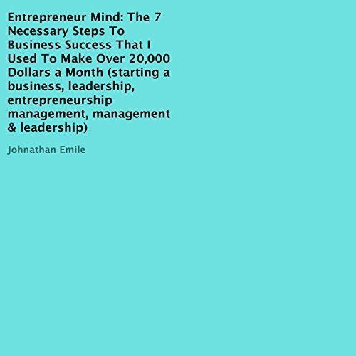 Entrepreneur Mind audiobook cover art