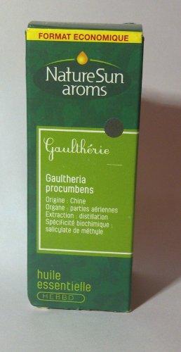 NatureSun Aroms Huile Esssentielle Gaulthérie (Gaultheria procumbens) Format Economique 30 ml