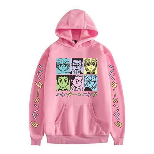 YZJYB Unisex Uomini E Donne Felpa con Cappuccio Stampa Pullover Invernale Hunter X Hunter 3D Pocket Manica Lunga Hoodies Autunno Inverno Outwear XXS-4XL,4XL