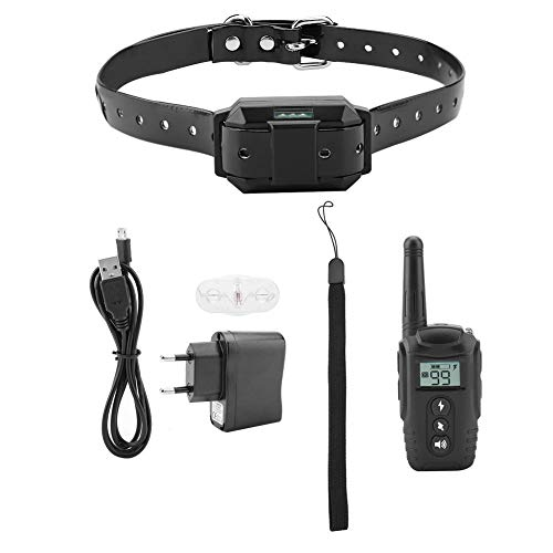 Longzhuo Neuestes Hundetrainingshalsband, elektrisches Hundetrainingshalsband Ferngesteuertes Hundetrainingsgerät 110~220V EU-Stecker
