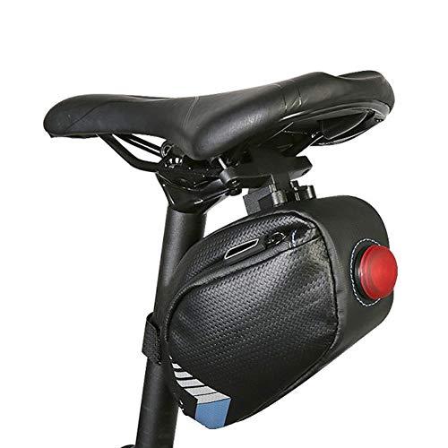 Bicicleta Saddle Bag, Asiento De Silla De Montar Bicicleta Bolsa De Almacenamiento, Asiento Impermeable Montar De La Bici Bolsa De Almacenamiento De La Cuña, Accesorios para Bicicletas