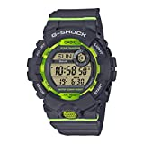 Casio G-SHOCK Orologio, Steptracker/Pedometro, Sensore di movimento, 20 BAR, Bianco, Digitale, Uomo, GBD-800-4ER