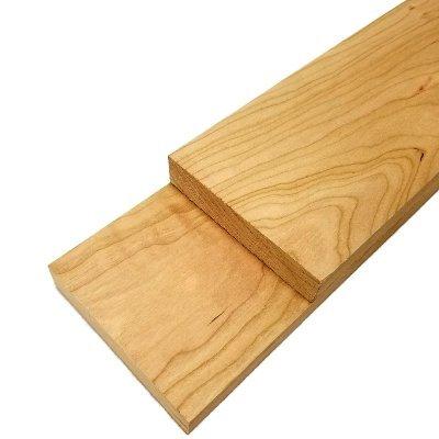 Cherry Lumber Board - 3/4' x 4' (2 Pcs) (3/4' x 4' x 24')